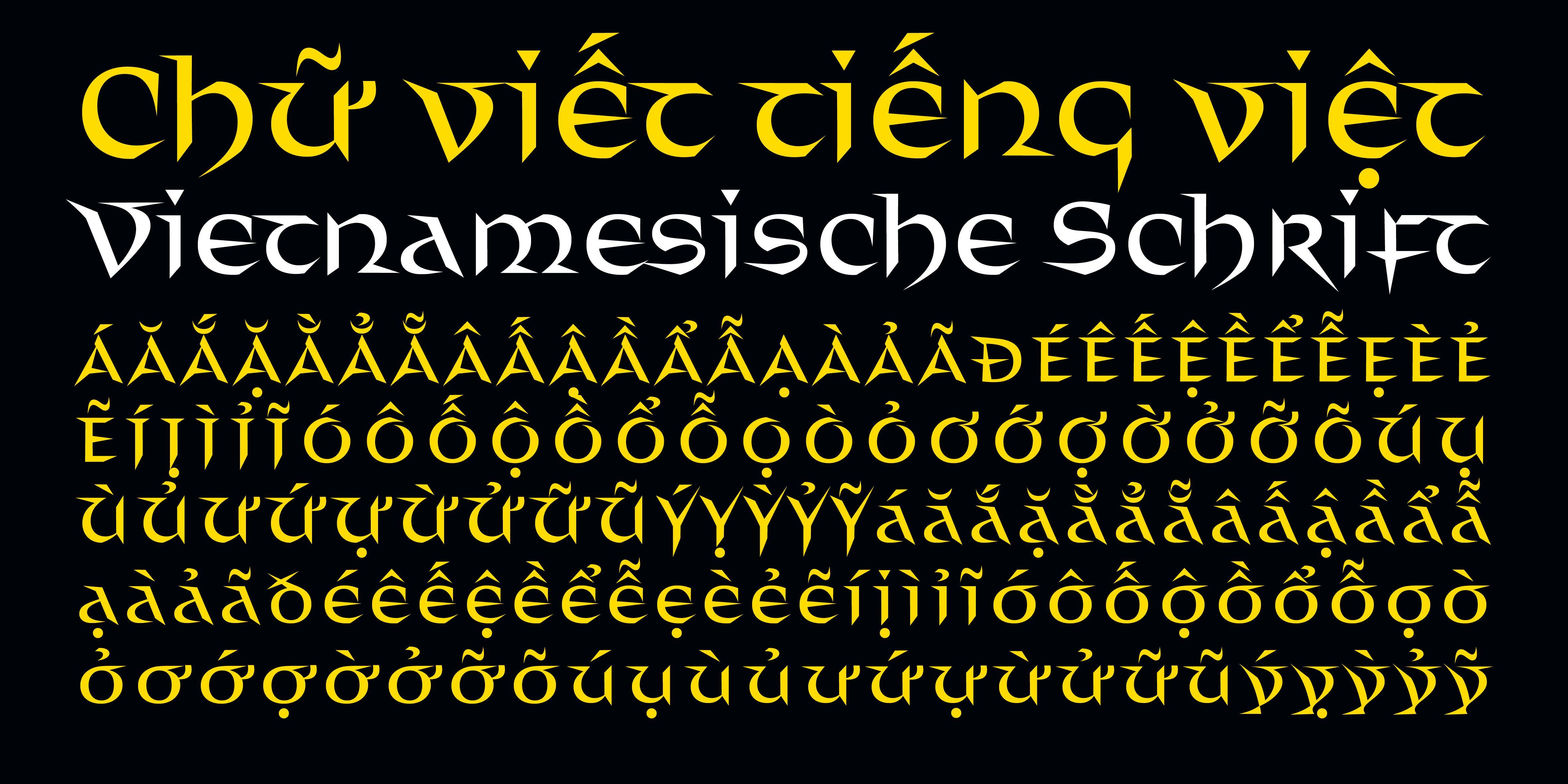 Poster: Distel unterstützt auch Vietnamesisch