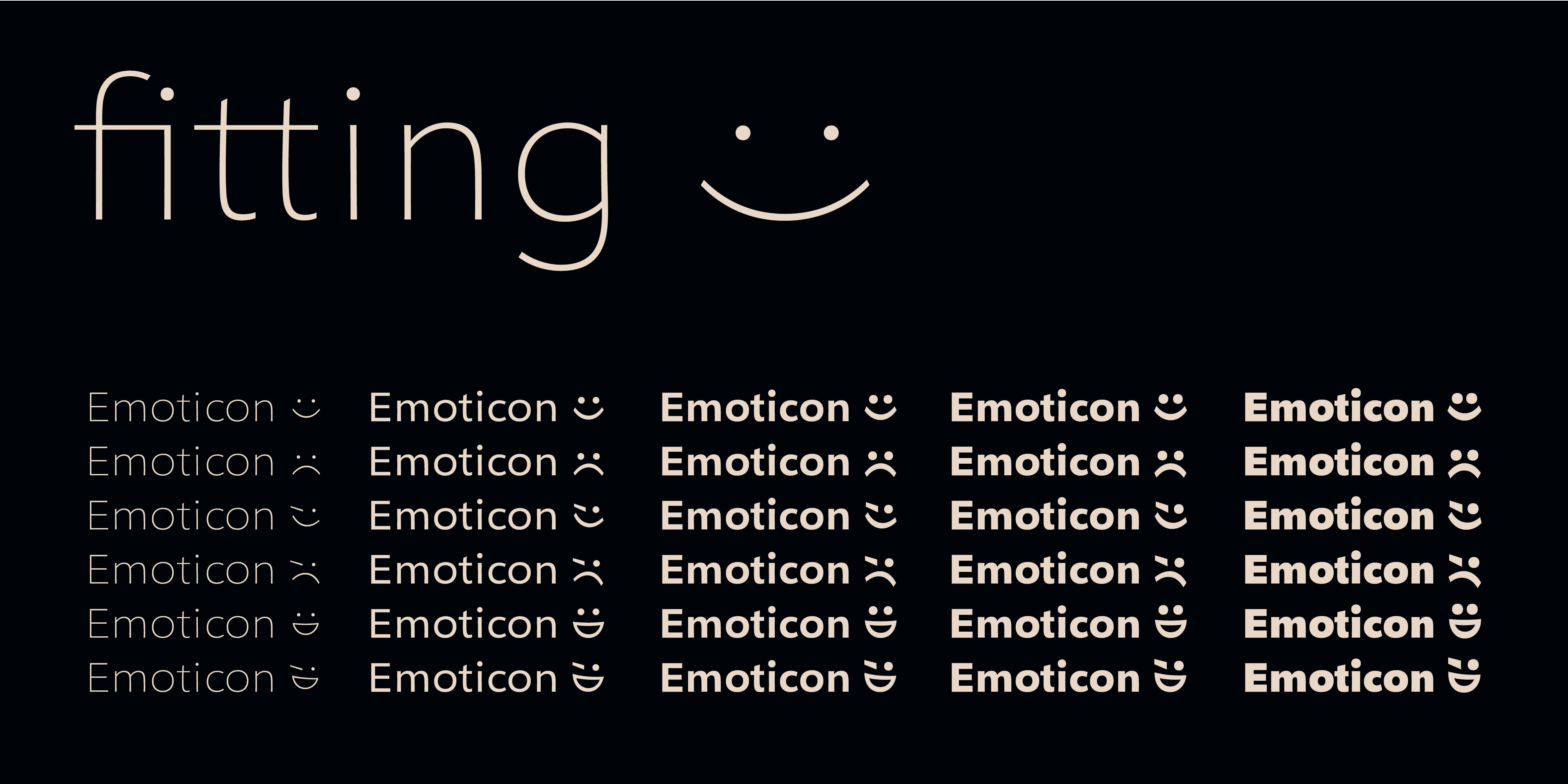 Poster: Emoticons coming with Geóso