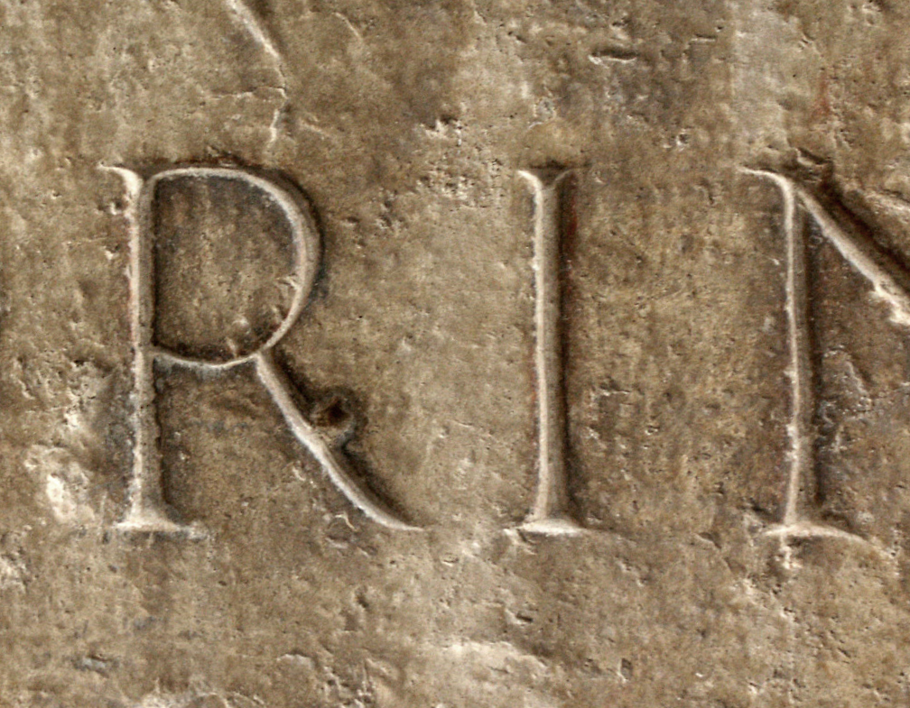 Fig. 4 — Roman Capital Letters